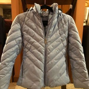 Express Small Puffer Coat w/ removable Hood